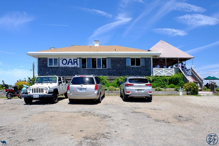 Le Chameau Bleu - Blog Voyage Block Island - Devanture du restaurant The Bar sur Block Island