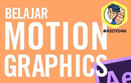 Belajar motion graphics After Effects Sikonyols
