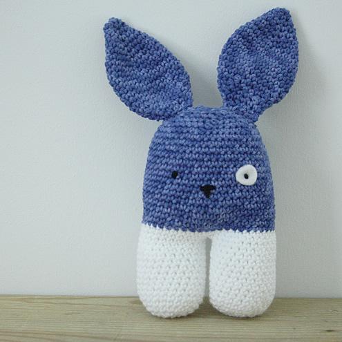Amigurumi bunny, small | Happy in Red
