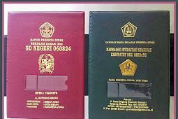 Contoh Label Nama Dan NISN Untuk Sampul Raport Kurikulum 2013 Versi Terbaru