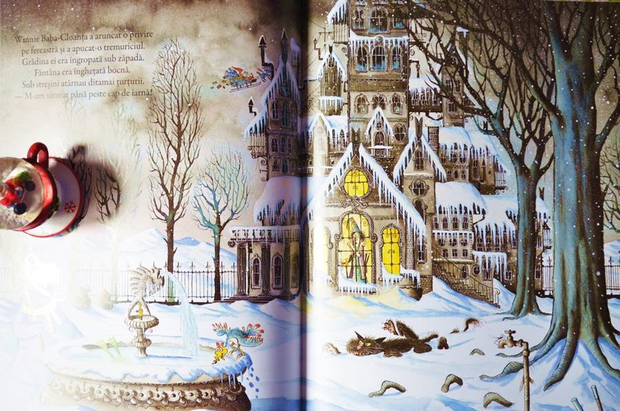 interior carte winnie si wilbur iarna lui winnie