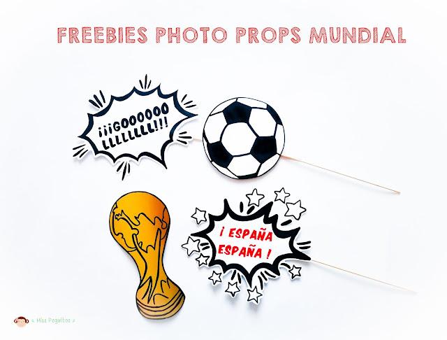 freebies photo props mundial