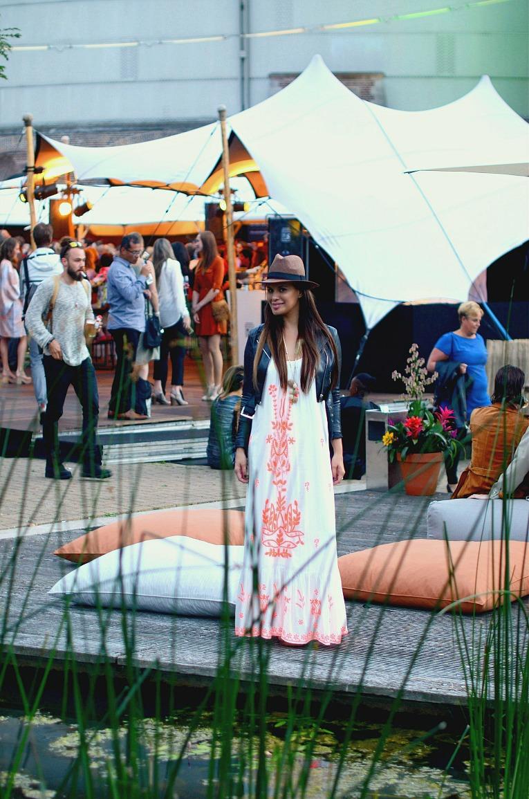 Tamara Chloé, Street style Amsterdam Fashion Week, MBFWA, Maxi dress at fashionweek, Costa Fashion, Dennis Diem