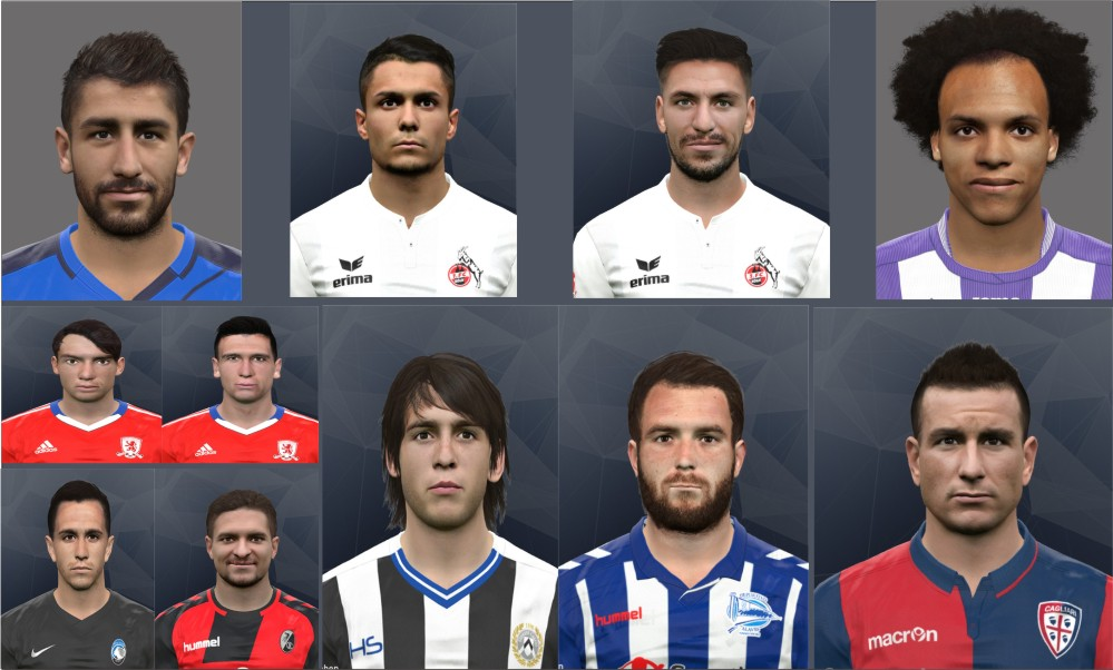 PES 2017 International facepack #2 by rednik