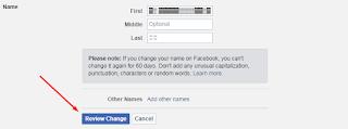Tutorial Membuat Akun Facebook Tanpa Nama / Blank Name 5