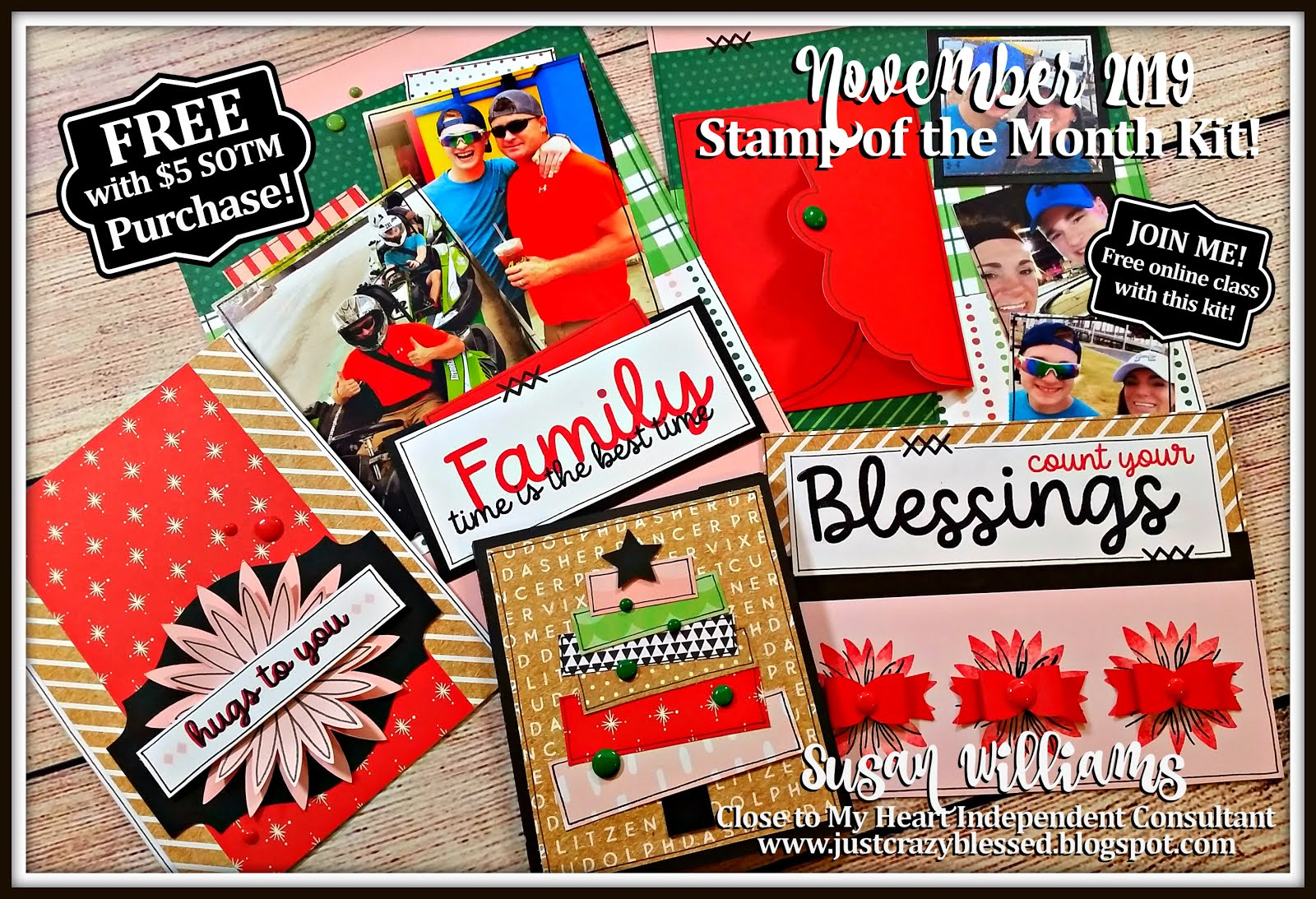 November 2019 Stamp of the Month Workshop!