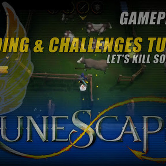 RuneScape 2016 ★ Trading And Challenges Tutorial ★ Let's Kill Some Cows O_o