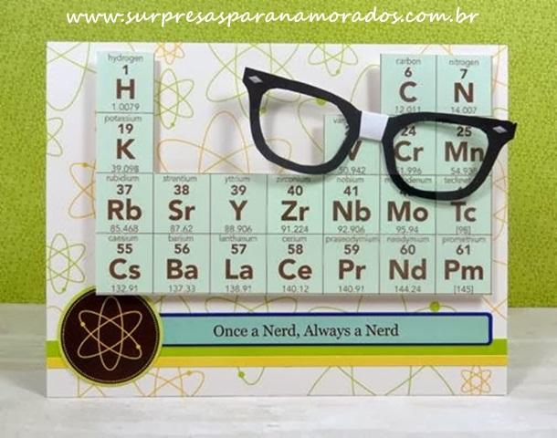 cartão químico