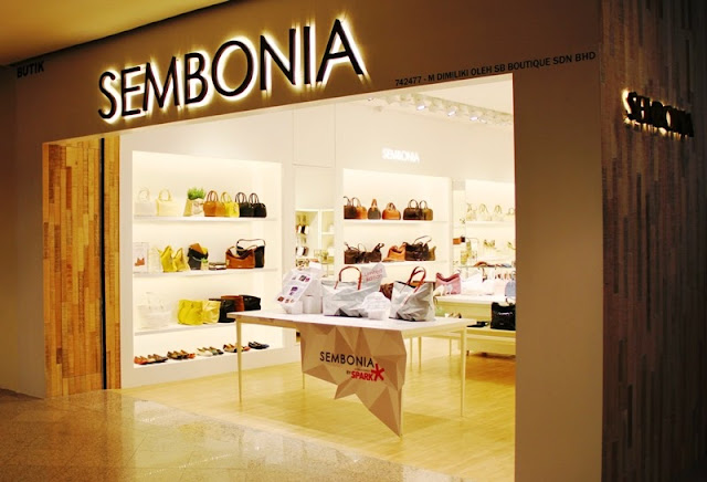 Sembonia New Look, Sembonia Mid Valley Megamall, handbang, shopping, sembonia