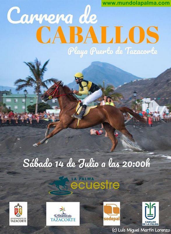 Carrera Caballos Playa Puerto Tazacorte