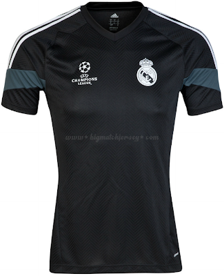 Jersey Bola Real Madrid UCL Training 2014 - 2015