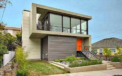 aneka desain rumah minimalis perkotaan