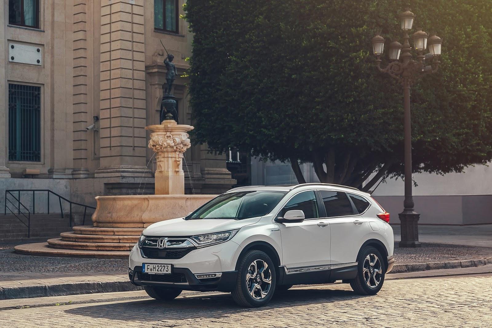 H Honda επιβεβαιώνει στοιχεία κατανάλωσης και εκπομπών ρύπων για το CR-V Hybrid