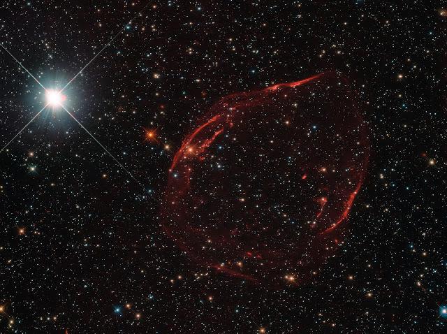 Supernova Remnant DEM L71