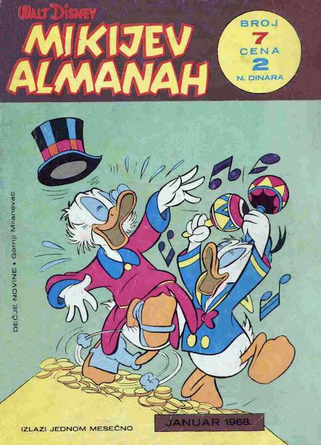 Mikijev Almanah 7 - Miki Maus