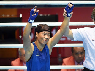 Mary Kom : 1st Indian woman to win CWG gold in Boxing