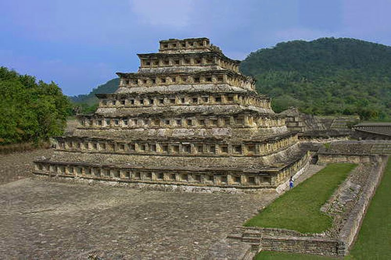 1. El Tajin, Mexico - 5 Incredible Pyramids (That Aren't In Egypt!)