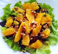 салаты с апельсинами рецепты с фото