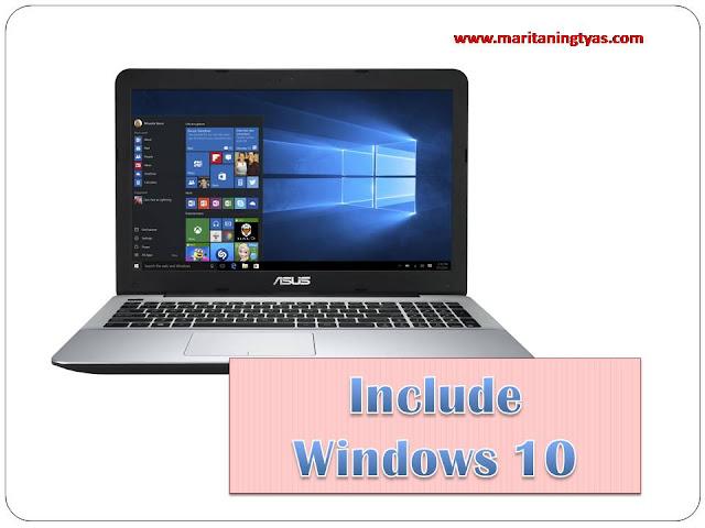 ASUS X555QA Include Windows 10