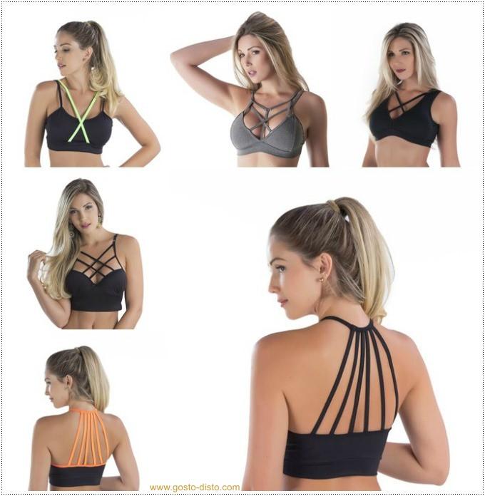 Como usar sutiã strappy bra