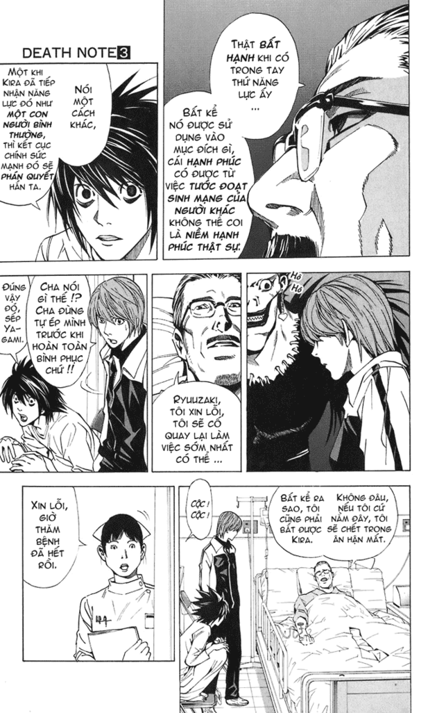 Death Note chapter 022 trang 16