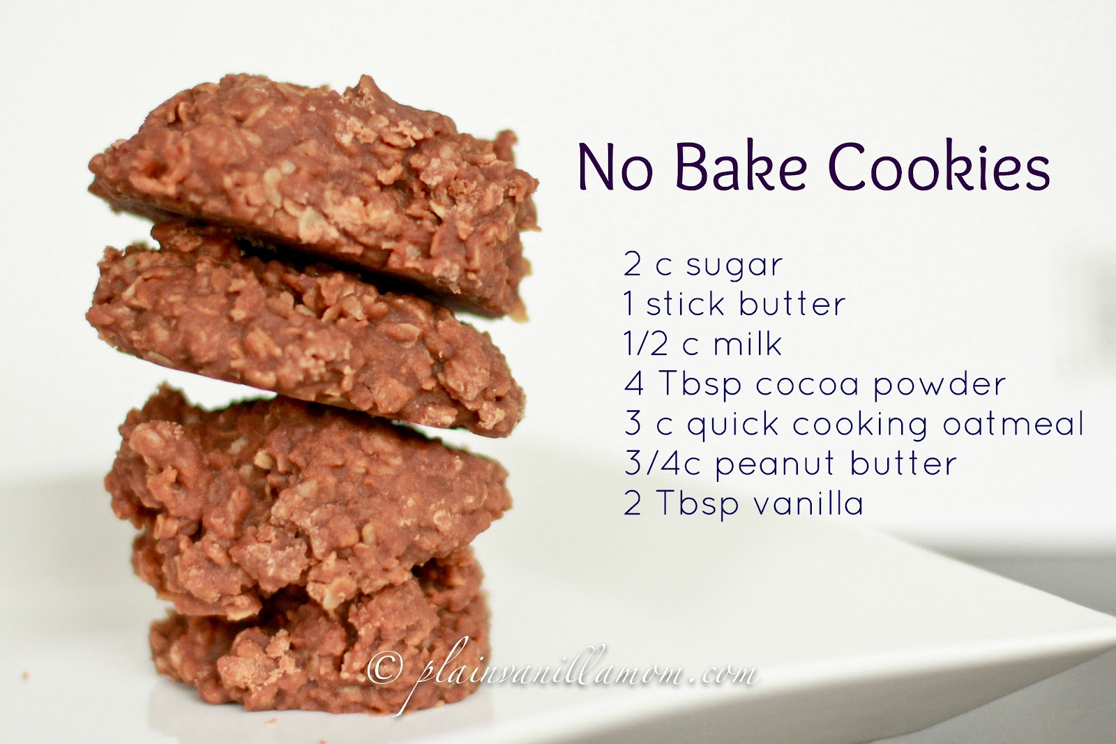 No Bake Cookies Recipe Food Network