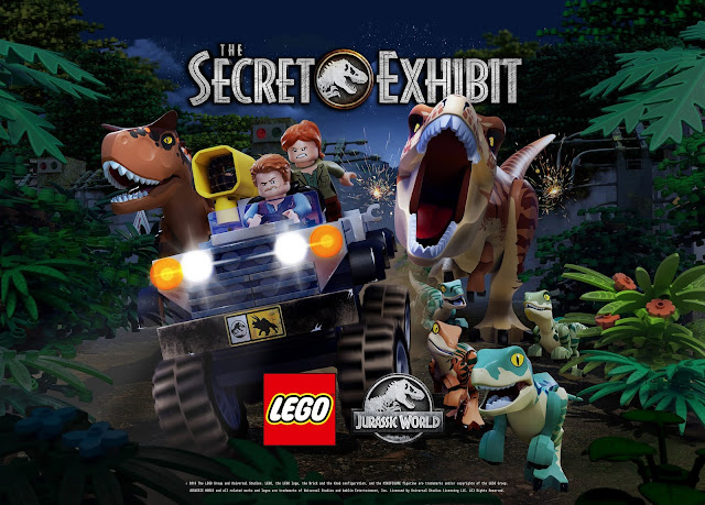 LEGO Jurassic World: The Secret Exhibit premieres on NBC November 29, 2018 at 8pm local time.