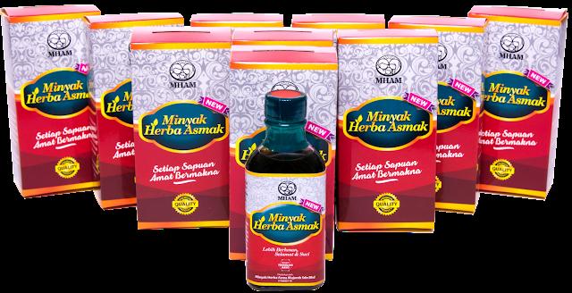 Minyak Herba Asmak Penawar Asma Mujarab