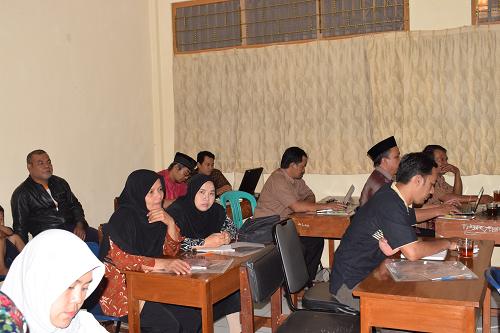 Pelatihan Perkoprasian Istiqomah Meraih Berkah Keluarga Besar MTs N Wonosobo