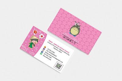 các mẫu card visit cá nhân