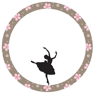 image regarding Ballerina Silhouette Printable named Ballet: Free of charge Printable Toppers, Illustrations or photos and Sweet Bar Labels