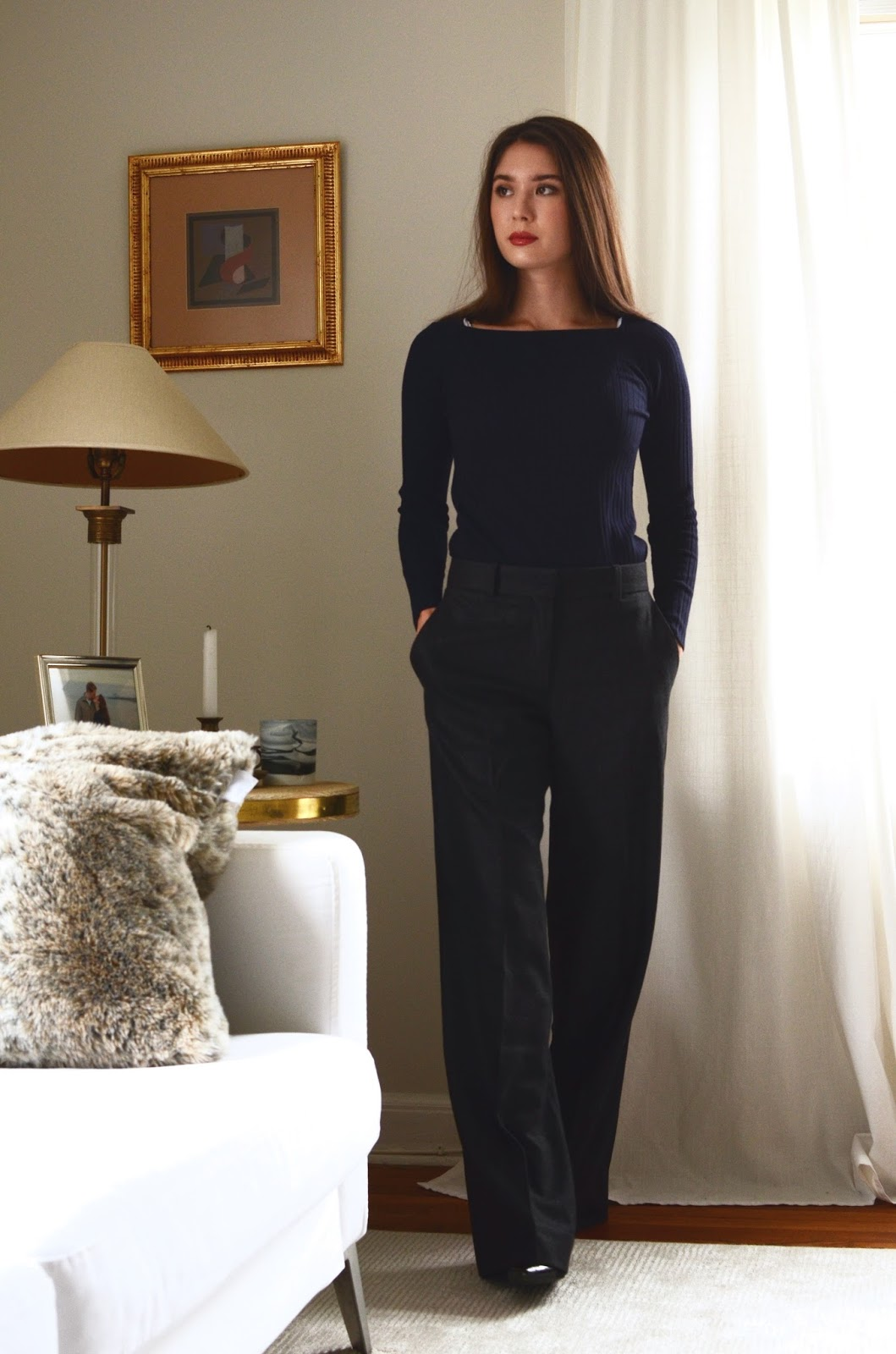 ed39e1d7b7e Everlane Luxe Ribbed Wool Boatneck Review Photos Sizing Information