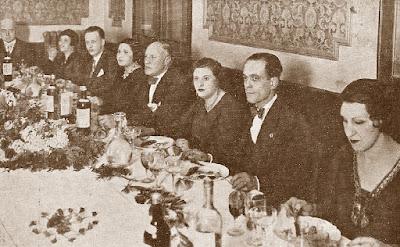 Homenaje a Plácido Soler y Josep Albert en 1932
