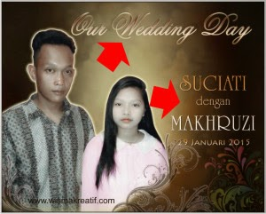 Membuat Banner Pernikahan Dengan MMT