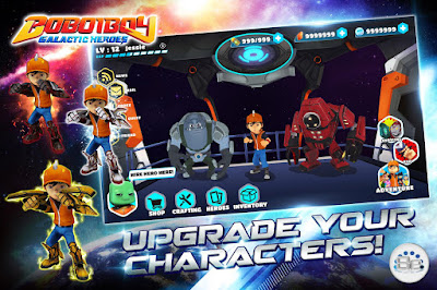 BoboiBoy Gelactic MOD Apk Premium Grartis Download + Data OBB