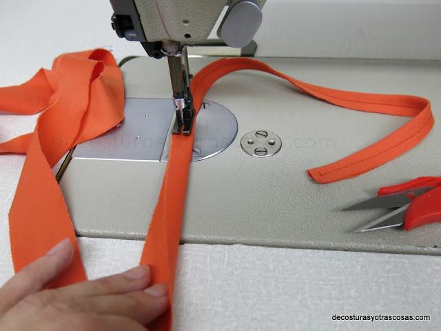 coser tira de bies
