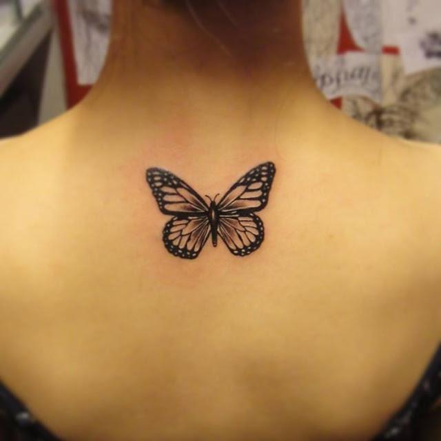 Plus De 30 Idees De Tatouage De Papillon Dans La Nuque Tattoo Moi Le Blog