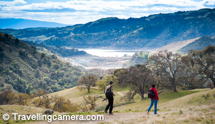 We could see a water dam on other side of Sunol Regional Wilderness. It was good time to start the hike and conclude it around 3pm. Weather was also very supportive.
