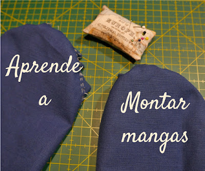 Curso costura : montar mangas chaqueta