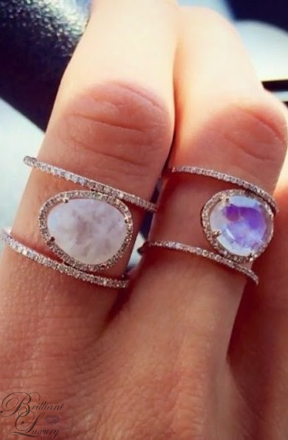 Brilliant Luxury ♦ beautiful gemstone rings