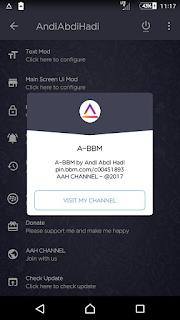 Aplikasi BBM Mod Android Delta v 3.3.6.51 Release Terbaru