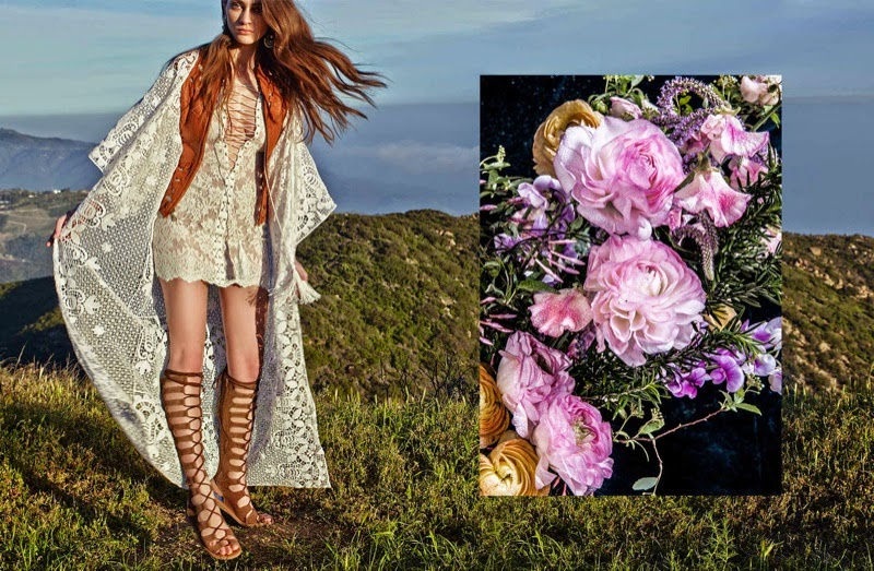 Nasty Gal brings a bohemian Music Festival Lookbook for 2015