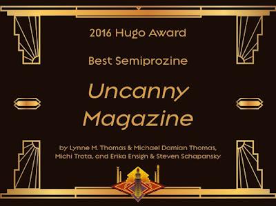 Г'юго 2016 Uncanny Magazine
