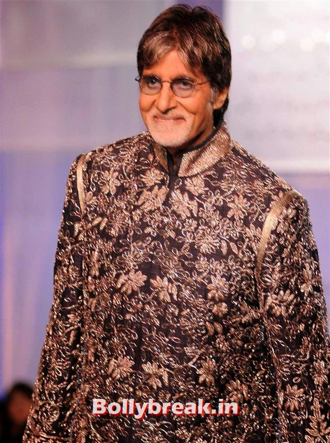 Amitabh Bachchan, Top Bollywood Celebs at Men For Mijwan Charity Fashion Show