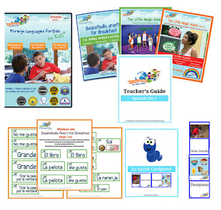 spanish for kids, learn Spanish, Spanish for homeschoolers, homeschool Spanish
