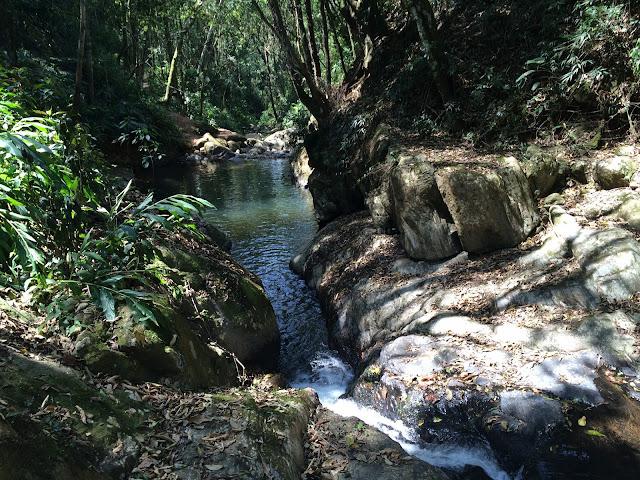 Cachoeira do Poção, em São Bento do Sapucaí, na Serra da Mantiqueira