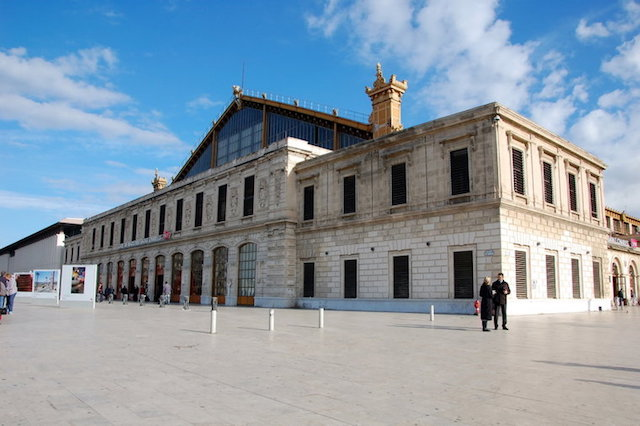 Estação de trem St Charles em Marselha