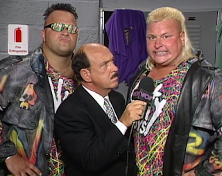 WCW Clash of the Champions 33 1996 REVIEW - Nasty Boys issued a challenge for the WCW tag titles