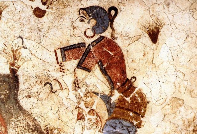 Κρόκος: η αρχαία θεϊκή κίτρινη βαφή