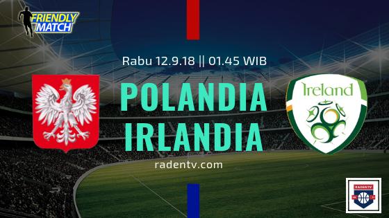 Streaming Polandia vs Irlandia